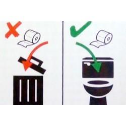 Thực hư giấy vệ sinh có tan trong nước ?